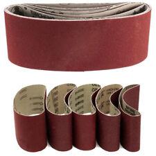 5pcs 457x75mm Sanding Belts 60/80/100/120/240 Mixed Grit For Sander Power Tool