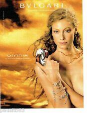 PUBLICITE ADVERTISING 116  2004   le parfum femme Omnia par          Bulgari