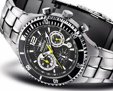 FIREFOX Herrenuhr Chronograph Armbanduhr S13 Seiko Werk 10 ATM Faltschließe