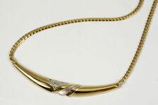 Diamant Halsketten und Anhänger im Collier-Stil aus mehrfarbigem Gold mit Diamanten