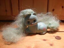 Vintage  My Little Pony Pretty Kitty Cat Kitten Blue Mattel 1989