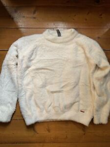 Sweaty Betty Islington Jumper Cream Colour  XS-S