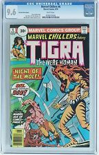 Marvel Chillers #6 1976 Cgc 9.6 Nm+ 30 Cent Price Variant Highest Graded 1 of 3
