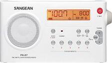 Sangean Pr-d7 Radio portable Blanc