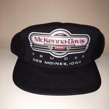 VTG McKenna-Davis GMC Trucks of Des Moines Iowa Trucker Snapback Hat New Cap