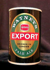 New listing Watneys Export Pale Ale- Early 1970'S - 9 2/3Oz Pull Tab Can - Super Clean