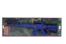 NEW CHILDRENS SAFE PLASTIC MAJOR COMBAT SOUND MACHINE GUN TOY
