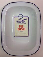 Falcon Enamel Oblong Pie Baking Dish Tin 26cm