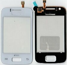 Kit VETRO + TOUCH SCREEN per SAMSUNG GALAXY Y DUOS GT S6102 DISPLAY LCD BIANCO