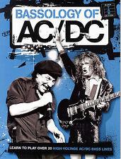 AC/DC - BASS GUITAR TAB SHEET MUSIC SONG BOOK