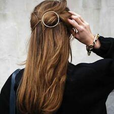 Unique Circle Hair Clip Stick Arrow Fork Round Barrette Hair Pins Accessories UK