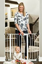 Regalo Easy Step 51-Inch Extra Wide Baby Gate Includes 6-Inch and 12-Inch Kit