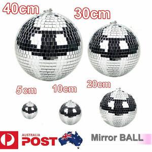 Disco Mirror Ball DJ Light Silver Dance Party Stage Lighting Eve 5/10/20cm
