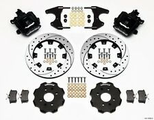 "2012 -2013 Fiat Abarth Wilwood Rear Parking Brake CaliperKit,12.88""X.81"" Rotors~"