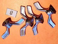 DFV: GOLIATH écrous papillon hub wingnuts road bike vintage course l'éroica