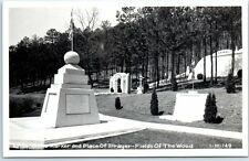"Murphy, NC Photo RPPC Postcard Fields of the Wood Park ""Arise Shine Marker"" 1949"
