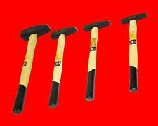 4 x Schlosserhammer 100 - 200 - 300 - 500 gram Hartholz Holzstiel Hammer TP 1-5