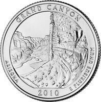 2010 P Grand Canyon National Park Quarter - Brilliant Uncirculated - ATB