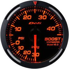 DEFI RED RACER BOOST GAUGE 52MM HIGH BOOST MODEL 45 PSI