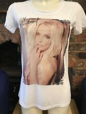 BRITNEY SPEARS TOUR T SHIRT BACK AND FRONT PRINT A PIECE OF ME