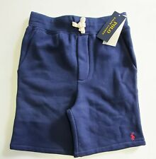 Polo Ralph Lauren Big Boys Fleece Shorts French Navy Sz L (14-16) - NWT