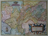 Ortelius Polen Litauen West Russland Reproduktion Alte Antik Landkarte Neu