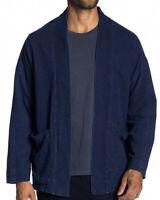 NWT NATIVE YOUTH Men's Marine Denim Kimono Blue Size S