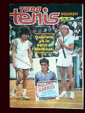 TENNIS GABRIELA SABATINI - Todo Tenis # 101 Magazine Argentina 1987
