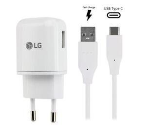 Original LG MCS05 Schnell-Ladegerät Typ-C Ladekabel V40 ThinQ V30 Nexus 5X G5 G6