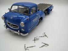 """CMC  Mercedes-Benz  Renntransporter  """"1954"""" 1:18 ohne Verpackung !"""