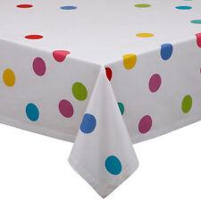 DII Design Imports Tablecloth Confetti Dots 52x52 Square Party Decor