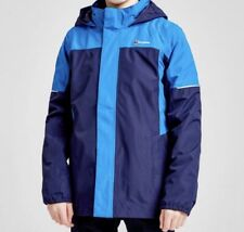Berghaus Kids Carrock 3 In 1 Hooded Waterproof Jacket Blue Size  13 Years