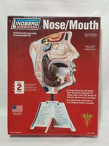 Lindberg Science Kits Nose Mouth Combination Skill 2 MADE IN USA nice NEW SEALED