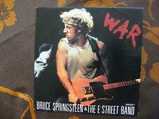 """SP BRUCE SPRINGSTEEN & THE E STREET BAND  """"War"""" CBS 650193 7  Holland  (1986)"""