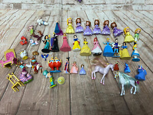 DISNEY SNOW WHITE, MERMAID, Sofia  LOT OF PVC FIGURES Variety
