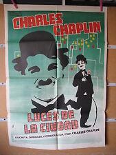 A1834  LUCES DE LA CIUDAD, CHARLES CHAPLIN