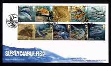 2014 GB Royal Mail Sustainable Fish First Day Cover Unaddressed