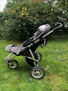 Running Pushchair: Quinny Speedi SX with rain cover and full suspension