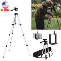 Professional Tall Camera Tripod Stand Holder Mount for iPhone/Samsung Cell Phone