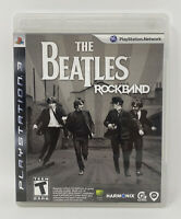 The Beatles: Rock Band Game Only (Sony PlayStation 3, 2009) PS3 Complete, Tested
