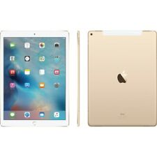 "APPLE iPad Pro 12.9"" 128 GB 1st GEN A1652 Wi-fi + Cellular Gold iCloud Bypassed"