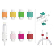 100pcs Data Line USB Cable Earphone Cord Saver Protection Cover for Iphone Ipod
