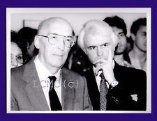 FOTOGRAFIA PRESS PHOTO PALERMO 1993 ANTONINO CAPONNETTO E GIAN CARLO CASELLI MAG