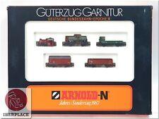 N 1:160 escala modelismo locomotora trenes vagones Arnold 0157 Set 1987 <