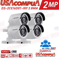 HIKVISION 2MP Camera  DS-2CE16D0T-IRF 2.8mm 4-IN-1 25M IR Outdoor 1080p Bullet