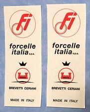 FORCELLE ITALIA BIMOTA/DUCATI/MAGNI/LAVERDA/GUZZI / STICKERS- LONG TYPE