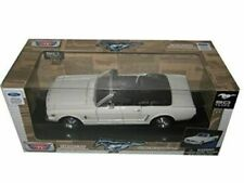 1964 1/2 Ford Mustang Convertible Cream No.1 50th Anniversary 1/24 by Motormax 7