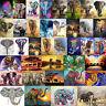 Elephant 5D DIY Full Drill Diamond Painting Cross Stitch Embroidery 40x30cm Gift