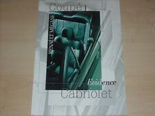 67775) Renault Megane Coupe Cabrio - Evidence - Prospekt 01/2000