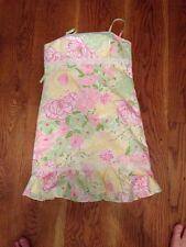 Lilly Pulitzer Girls Dress Rare Size 16 womens 0/2